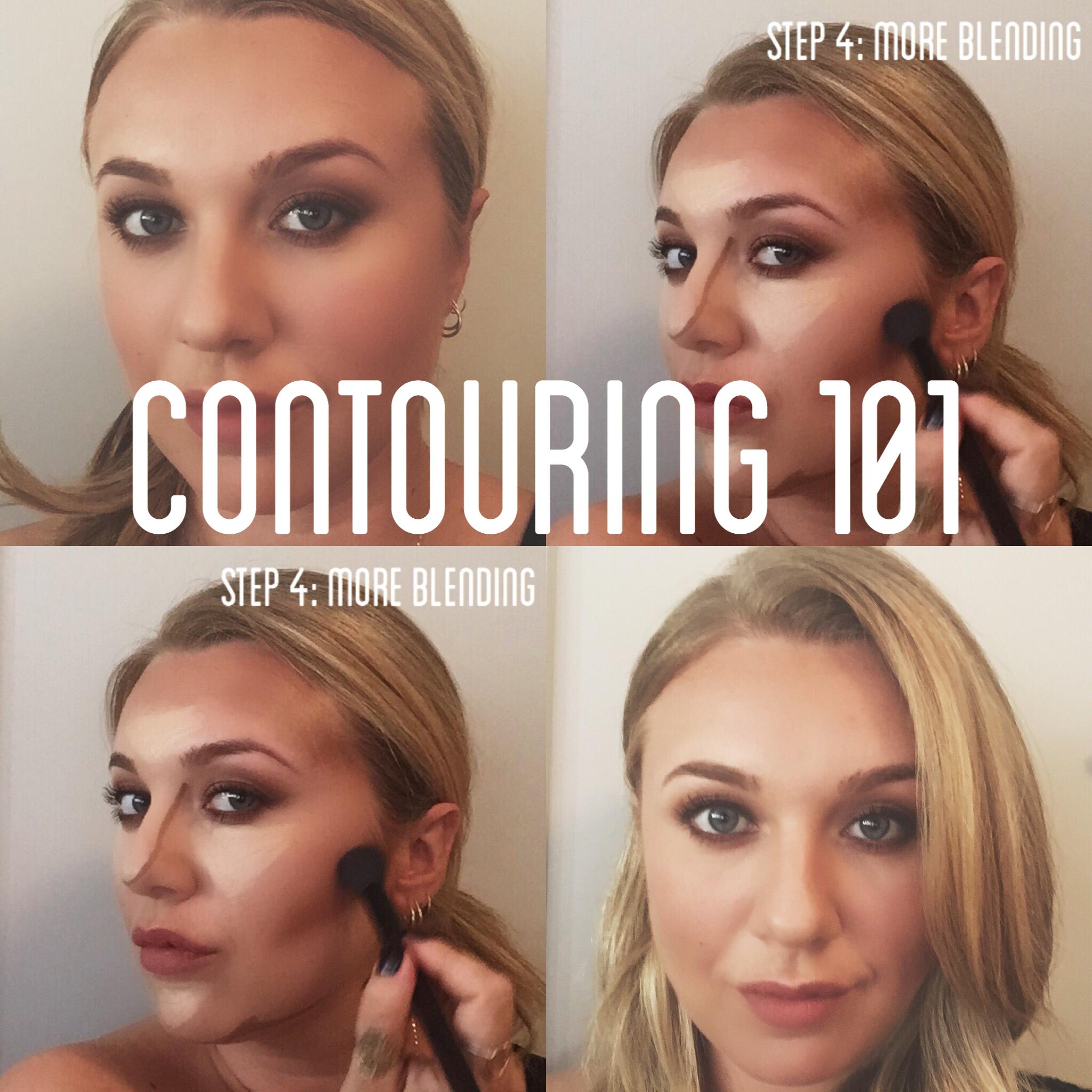 Contouring 101 Smashbox Step By Step Contour Stick Trio